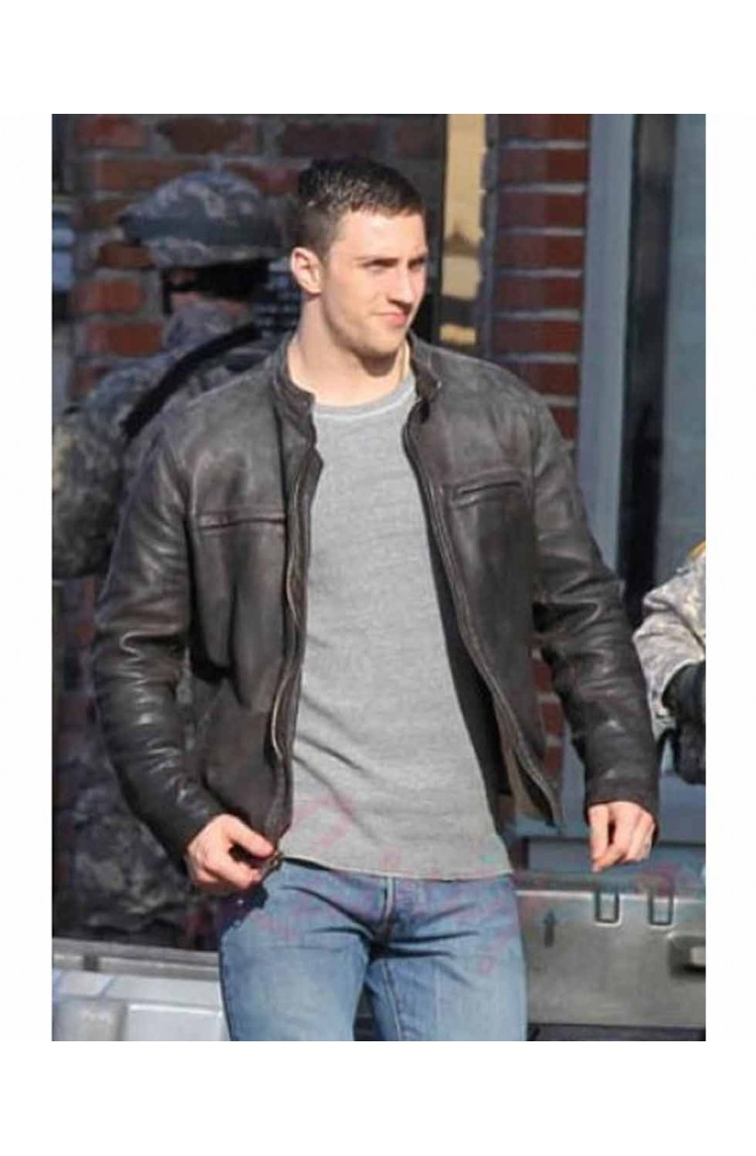 Aaron Taylor – Johnson Godzilla Black Leather Jacket – Movies Jacket